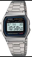 Casio  Watch  Retro  Digital  Unisex   A-158W  Original New Digital  A158 Silver