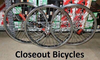 "Hollow Hub Wheel 4 Lowrider Trike Cruiser Chopper Trike Bike 20/"" Bicycle 36 Sp"