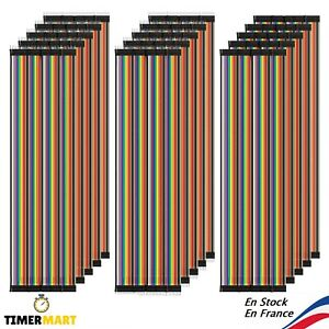 Cable-Dupont-20cm-Jumper-Wire-Linie-pour-Breadboard-Arduino-MM-MF-FF-TimerMart