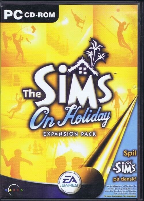 The Sims: On Holiday, til pc, simulation