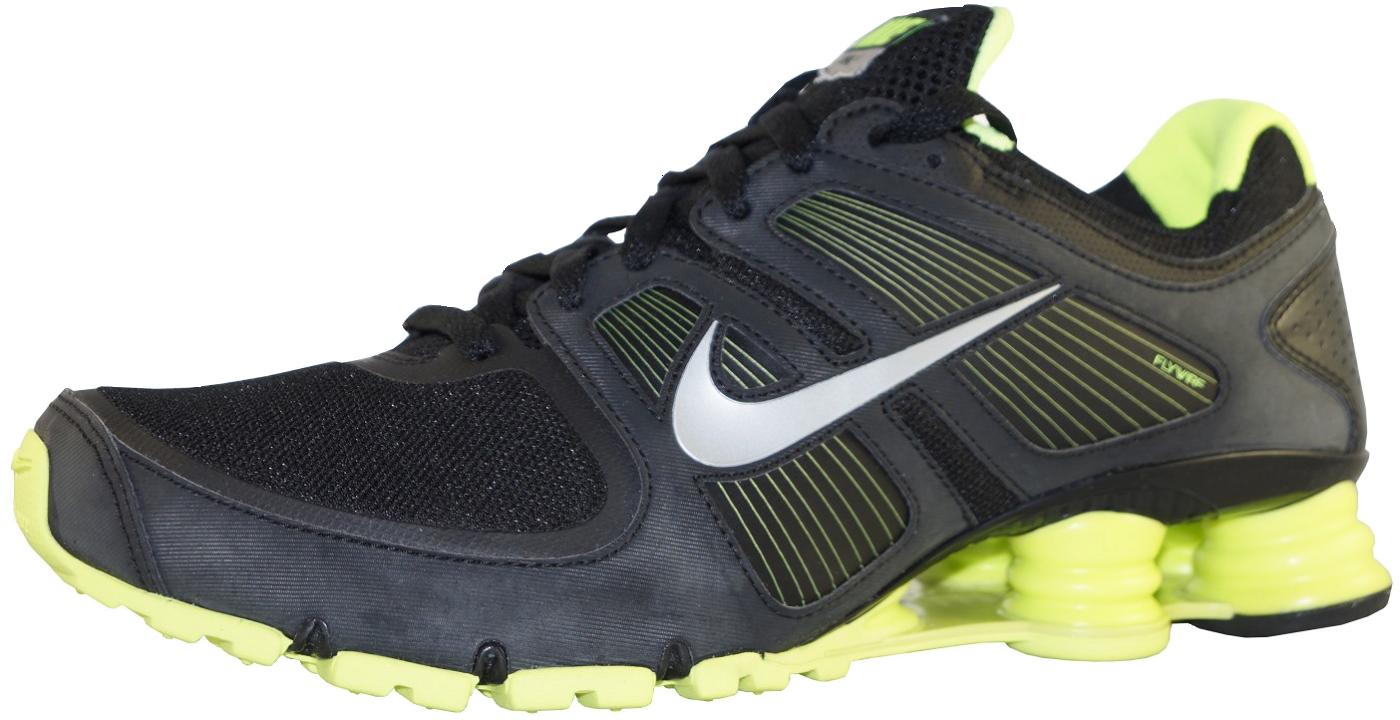 Nike Shox Turbo +11 Sneaker Turnschuhe Sportschuhe Laufschuhe Schwarz 407266 017