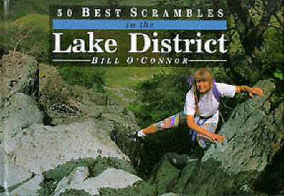 50 Best Scrambles in the Lake District-ExLibrary