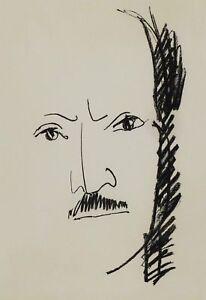 подробные сведения о André Marchand 1907 1997 Lithographie Portrait De Saint John Perse 1962