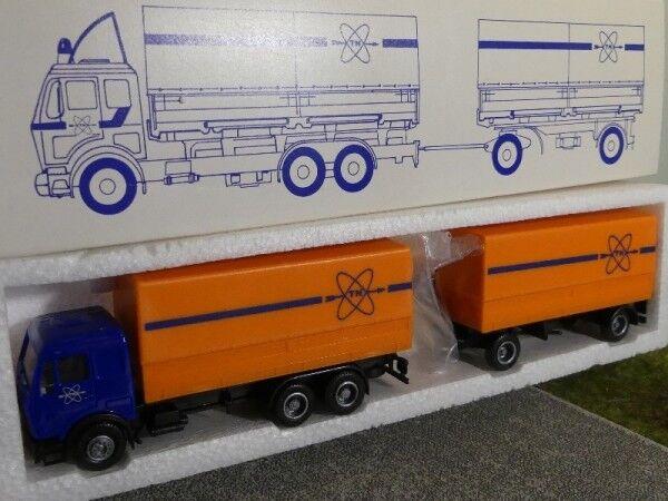 1 87 Herpa MB NG TN Trans-Nuclear Orange Flat Hz