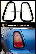 01-06 BMW MINI Cooper/Cooper S/ONE R50 R53 BLACK Tail Llight Rear Light Surround
