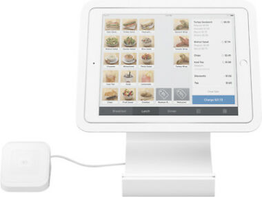 Square Stand for Contactless and Chip for Apple iPad