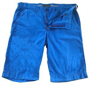 Bermuda-Fred-Perry-Uomo-Pantaloncini-Azzurro-Men-Bermuda-Shorts-Stretch-Light-Bl