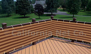 Image Is Loading Brown Khaki Outdoor Privacy Screen Mesh Net Sun