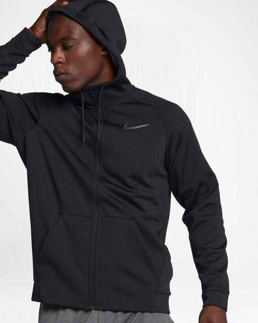 04c3632e6ae3 Nike Therma Sphere Training Jacket Full Zip Hoodie Black 860511-010 ...