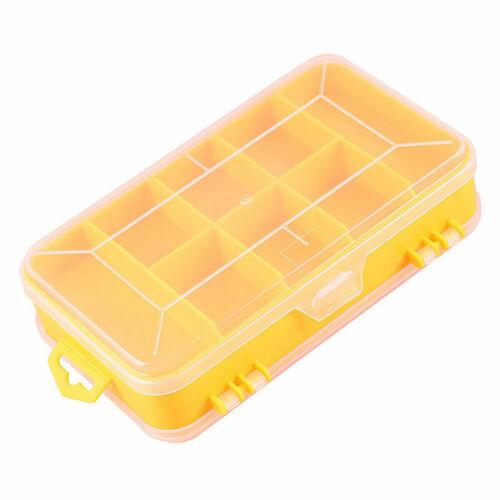 1x Plastic Storage Box Case Jewelry Ornament Bead Container Organizer Craft Tool