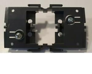 legrand arnould club plaque de fixation noir interrupteur