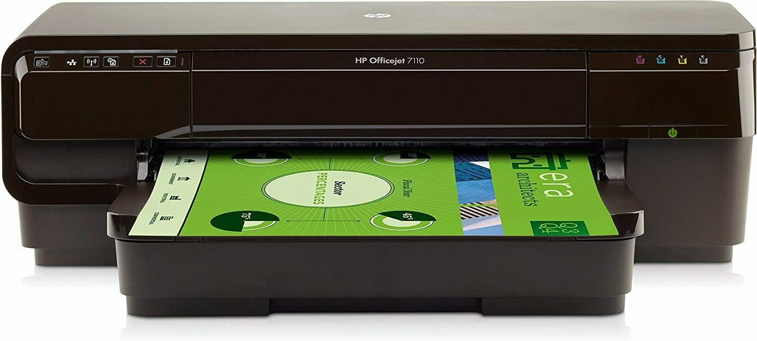 HP Officejet 7110 Large Format Inkjet Printer New (CR768A). Buy it now for 249.90
