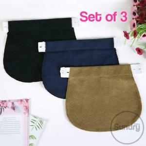 Maternity-Waist-Extender-Bundle-Set-Trousers-Pregnant-Pregnancy-Jeans-Waistband