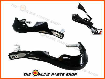 BLACK Universal Metal Hand Guards Handguards Suitable for Suzuki XF 650 Freewind