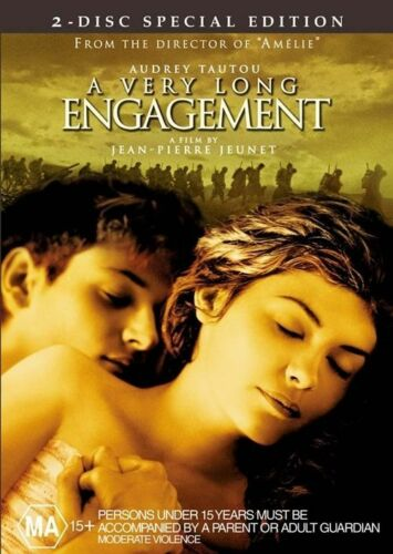 1 of 1 - A Very Long Engagement (2004) Audrey Tautou - (2-Disc Set) - NEW DVD - Region 4