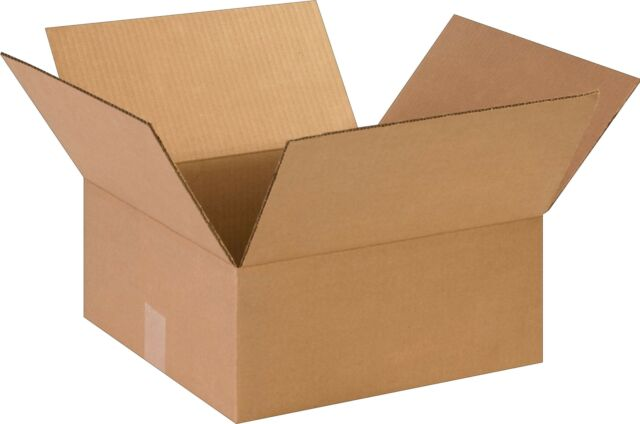 COASTWIDE 14 x 14 x 6 Shipping Boxes 32 ECT Brown 141406
