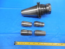 Devlieg Cat 50 10 Sg Tg 100 Collet Chuck Tool Holder 50ct 10sg 35 With 4 Collets