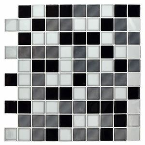 Image Is Loading Self Adhesive Mosaic Tile Stickers Bathroom Kitchen Transfers