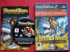 PRINCE OF PERSIA THE SANDS OF TIME ORIGINAL BLACK LABEL PLAYSTATION 2 PS2 PAL