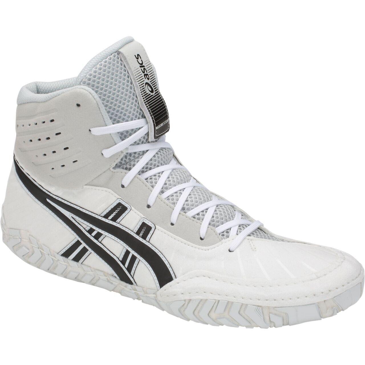 ASICS Aggressor 4 Zapato-lucha De Hombre-blancoo - 1081A001.100