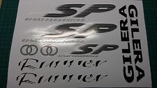 Gilera Runner SP Sticker/Decal Set  SP FX FXR 125, 172, 180 183 *BLACK & WHITE*