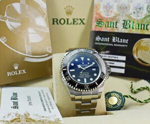 ROLEX-SS-DEEPSEA-Sea-Dweller-James-Cameron-Blue-Dial-116660-SANT-BLANC