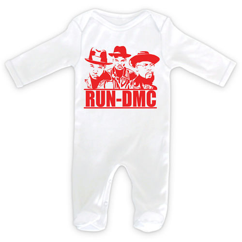 Classique RUN DMC Rap Hip Hop-Baby Sleepsuit rompre