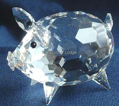 0d30d627f Swarovski Crystal Medium Pig V2 Wire Tail - MINT UK Postage for sale online  | eBay