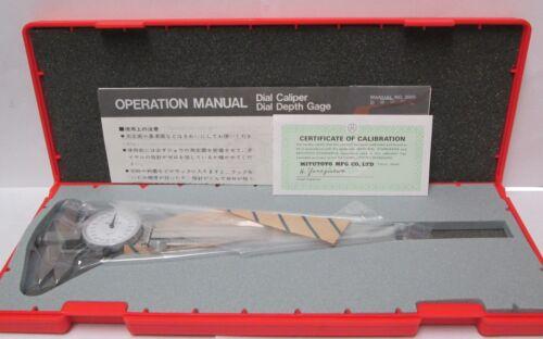 """0-6.000/"""" Mitutoyo 536-705 Dial Caliper"""