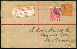 1d-Red-KGV-with-034-Wattle-line-034-variety-VFU-on-1916-ACSC-RE6A-4d-Orange-KGV