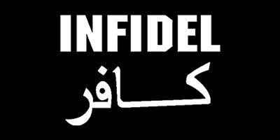 INFIDEL BUMPER STICKER VINYL DECAL all weather pro gun 2nd amendment  soldier