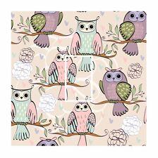 Novelty Owl Hipster Pattern Bird Light Switch Vinyl Sticker Cover Skin Decal