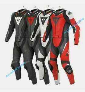 MOTORBIKE-LEATHER-SUIT-MOTORCYCLE-MOTOGP-LEATHER-SUIT-1-amp-2PC-BIKERS-RACING-SUIT