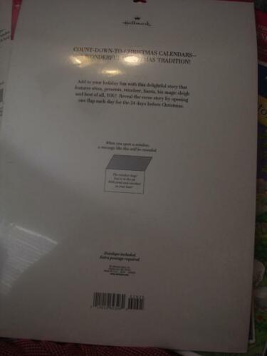 Advent Calendar Hallmark Santas Special Delivery Count Down NIP with envelope