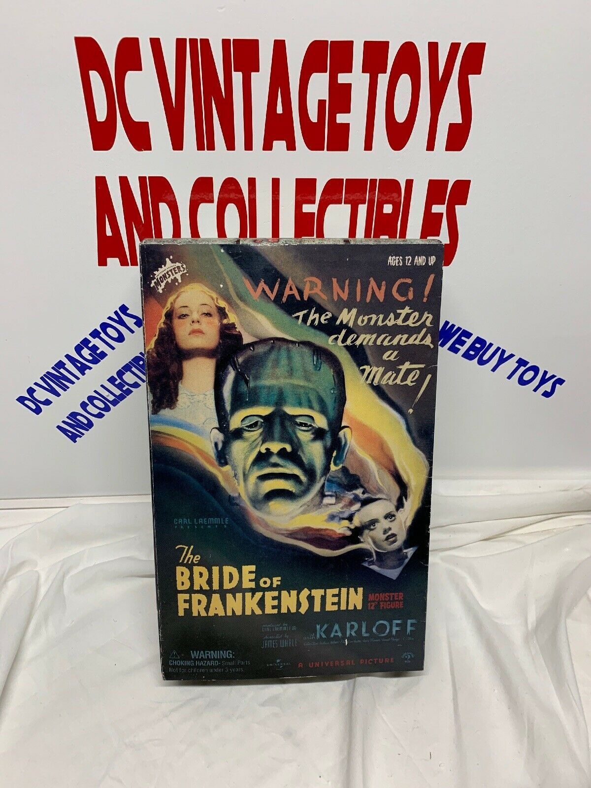 2001 Sideshow Toys 1 6 Scale 12  Universal Studios The Bride of Frankenstein