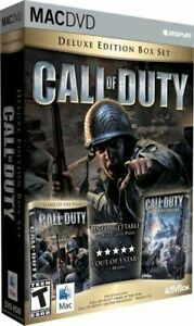 Call-of-Duty-Deluxe-w-United-Offensive-Sealed-New-For-Mac