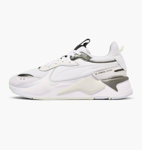 Puma RS-X Trophy Lifestyle Sneakers White Bronze Limited New Shoes Men 369451-02