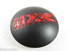 XXR  BLACK/ RED USED!!!  CUSTOM WHEEL CENTER CAP* #622   (1)