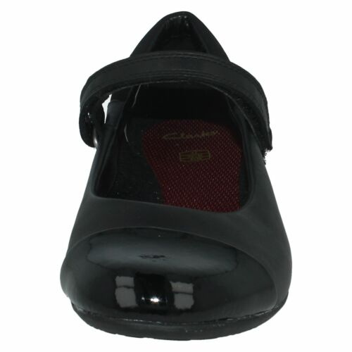 'tizz Girls Negro School Senior Clarks Shoes Talk' Wv5Iqw6