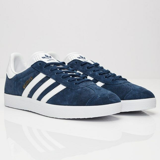 Adidas Originals Gacela Azul Marino BB5478 Hombres Tallas Nuevo 100% Auténtico