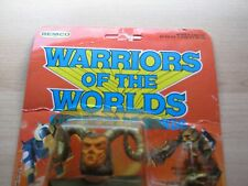 Rare Warriors of the Worlds Remco Conan Thoth Amon The Enemy  NEW in package