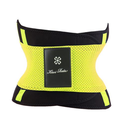 Women Boned Waist Trainer Underbust Corset Neoprene Sweat Belt BODY SHAPER Wrap