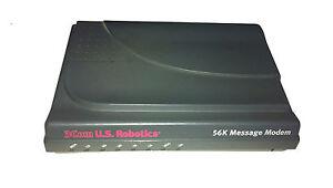 3com U.s. Robotics 56k Message Modem Fax Analogique Pc/mac #28-afficher Le Titre D'origine éLéGant Dans Le Style