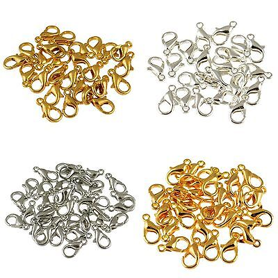 20pcs Jewelry Loose Lobster Parrot Clasp Claw For Diy necklace bracelets 12/10mm