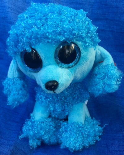 wfl Ty Beanie Boos Mandy Boo ´s Dog Poodle Glubschi 15 cm