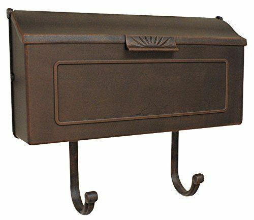 Special Lite Products Shh-1006-CP Horizon Horizontal Mailbox, Copper