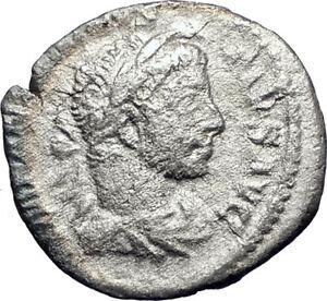 ELAGABALUS-Sacrificing-over-altar-221AD-Rome-Silver-Ancient-Roman-Coin-i73382