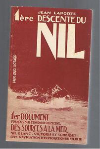1ERE-DESCENTE-DU-NIL-JEAN-LAPORTE-1971-Dedicace-envoi