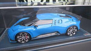 Bugatti Centodieci French Racing blue  MR 1:18 ! NO BBR Looksmart