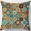 thumbnail 20 - Throw-PILLOW-COVER-Tapestry-Kilim-Rug-Print-Decorative-Soft-Cushion-Case-18x18-034